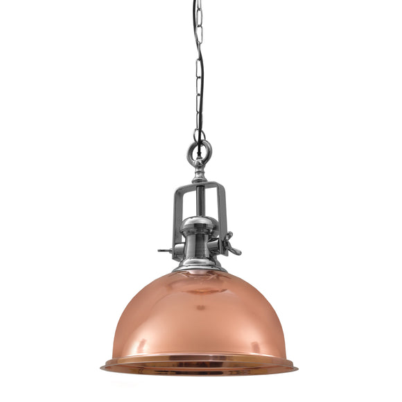 Castle Copper Handcrafted Pendant Light