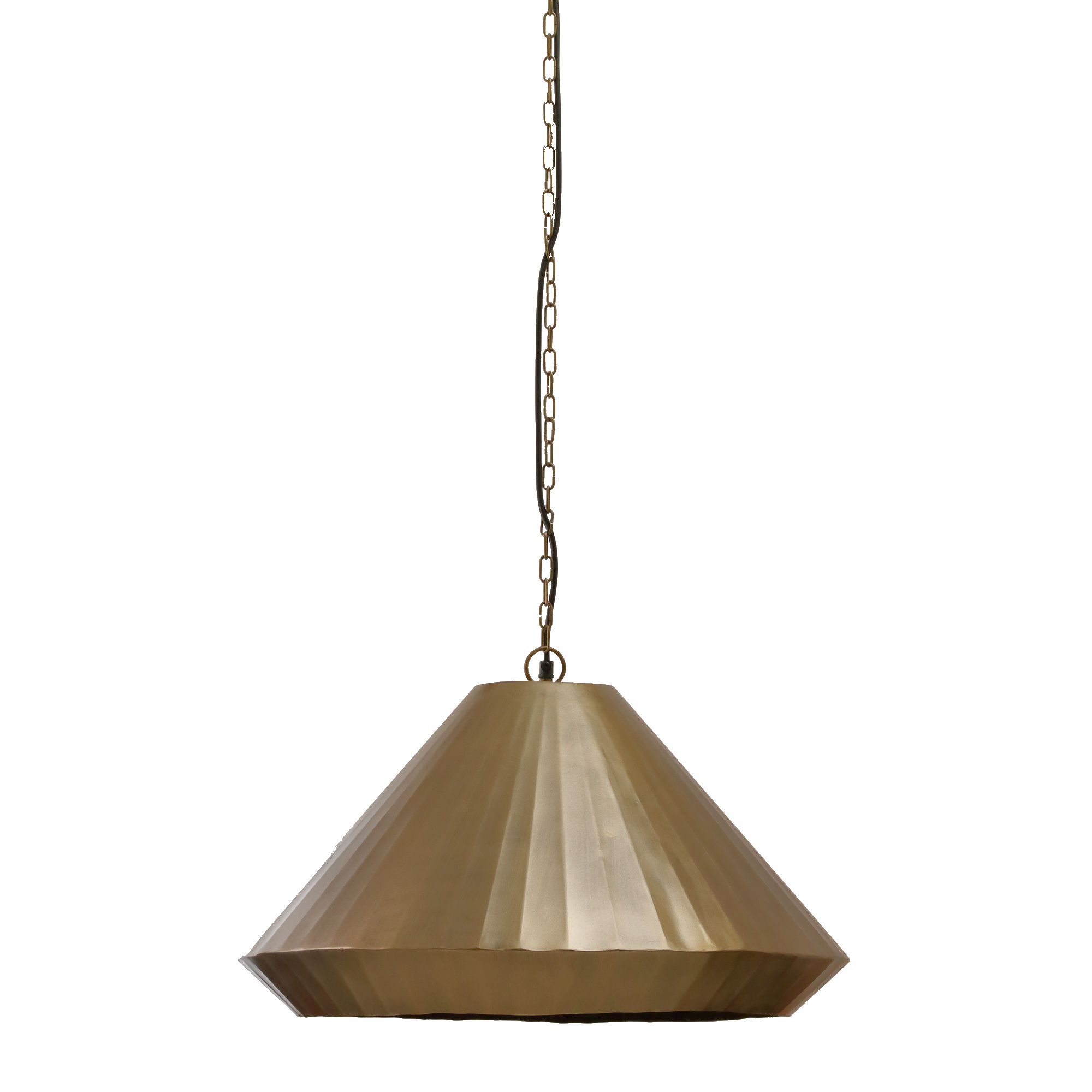 Amalfi Handcrafted Brass Pendant Light