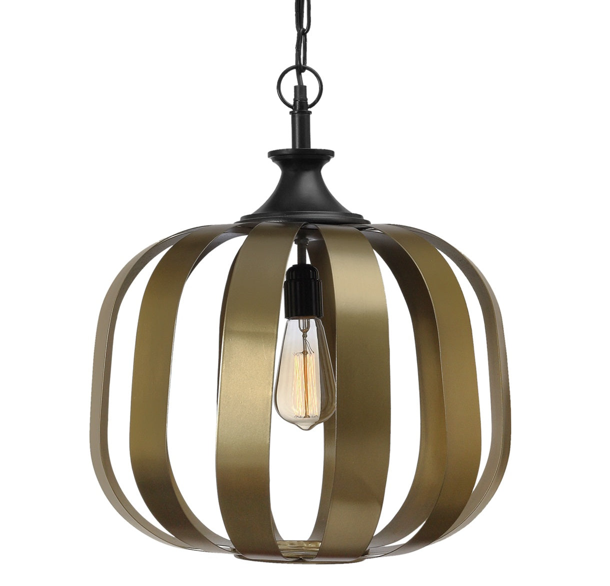 Berlin Handcrafted Antique Brass Pendant Light