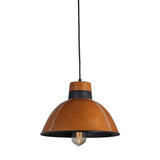 HIDESIGN LEATHER PENDANT LIGHT INDUSTRIAL COMMERCIAL FOR KITCHEN CAFE RESTAURANT