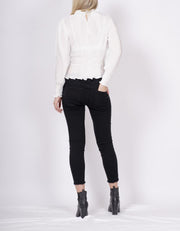 Marsanne Distressed Boyfriend Jean Black