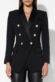 Mossman | The Satorial Blazer Black | Chich Boutique Lygon Street, Brunswick East