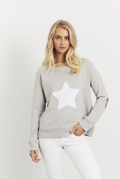 Leopard Star Windy French Grey