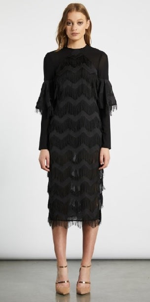 Elliatt | Hilton Dress Black | Chich Boutique Lygon Street, Brunswick East