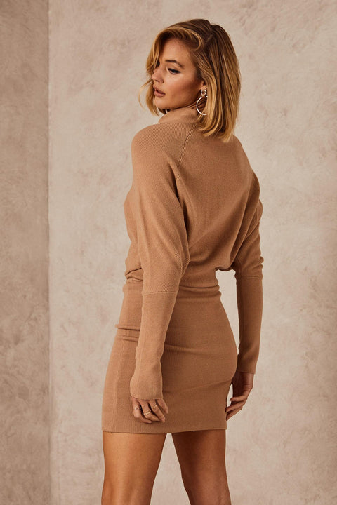 Lenox Knit Dress Camel