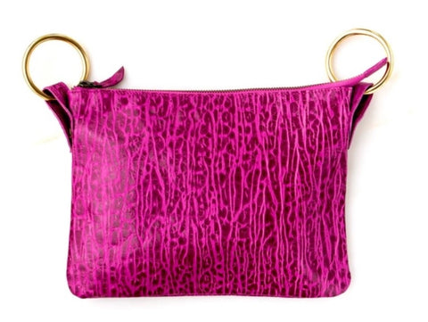 Nina Crossbody Bag Fuschia