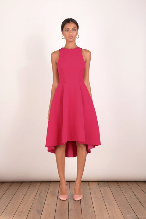 Pearl Dress Jet Pink