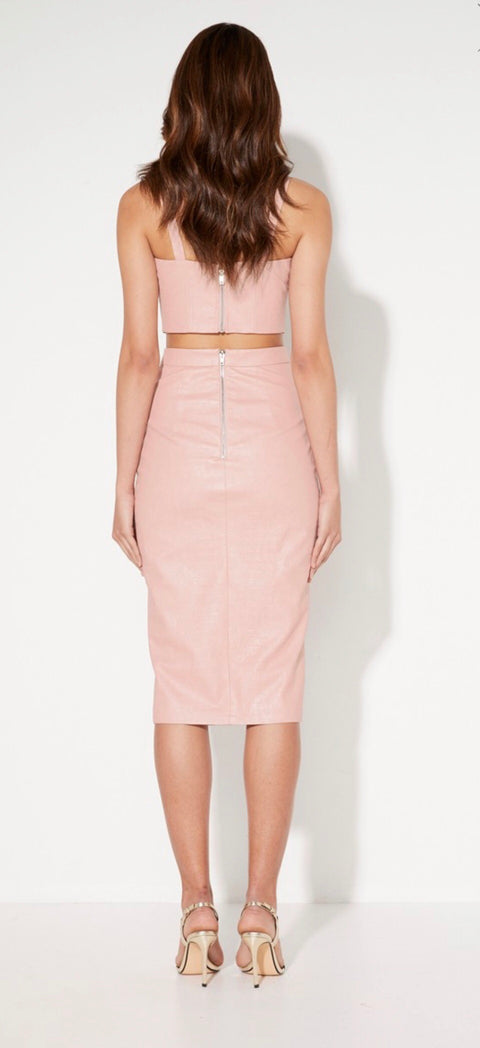 The Deja Vu Skirt Blush