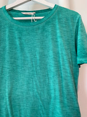 Enzyme Tee Washed Green