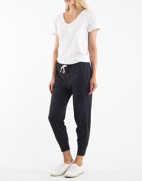 Wash Out Lounge Pant Black