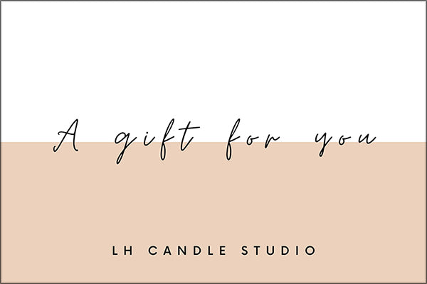 E-Gift Cards - LH CANDLE STUDIO