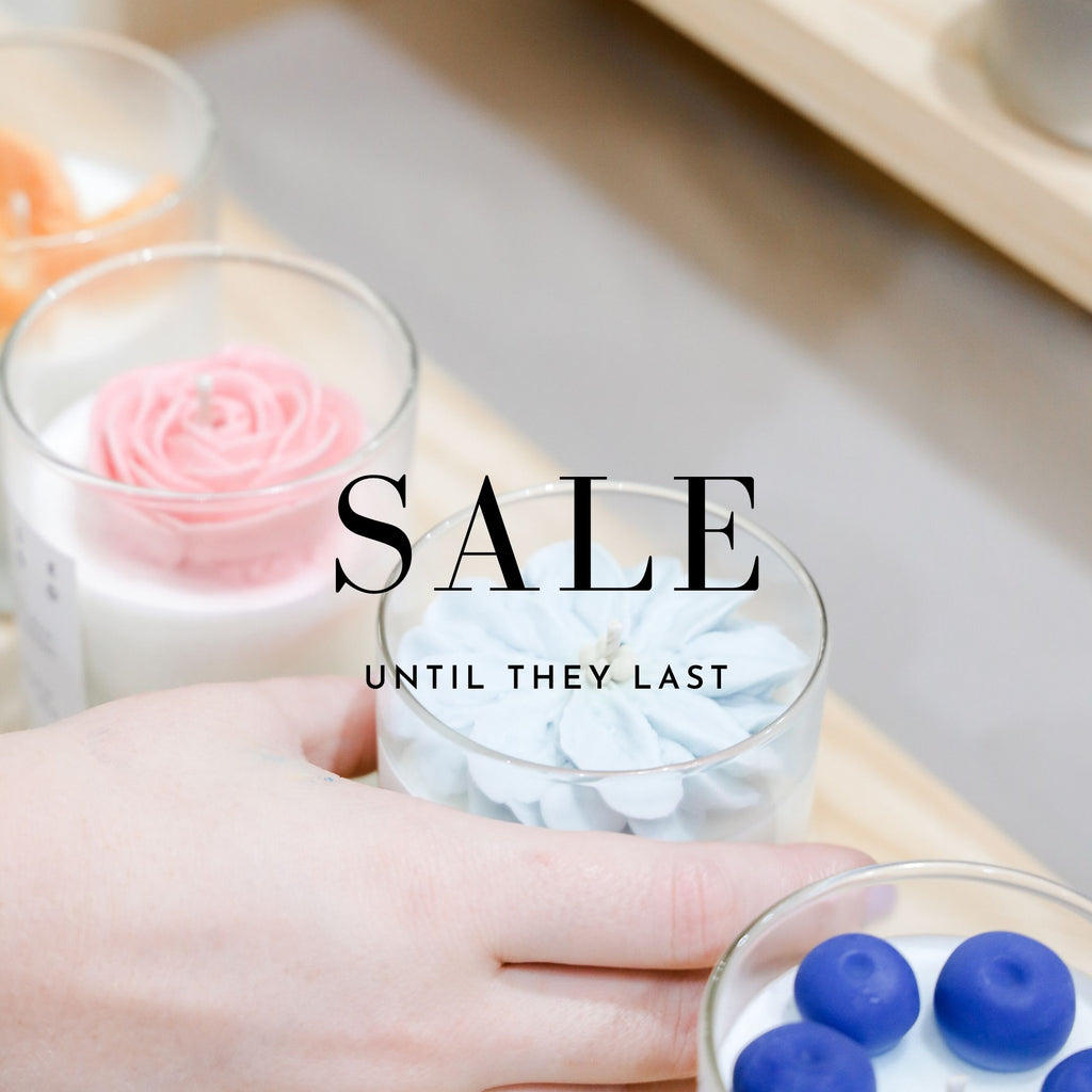 Sale: 5-6 oz Signature candles - LH CANDLE STUDIO