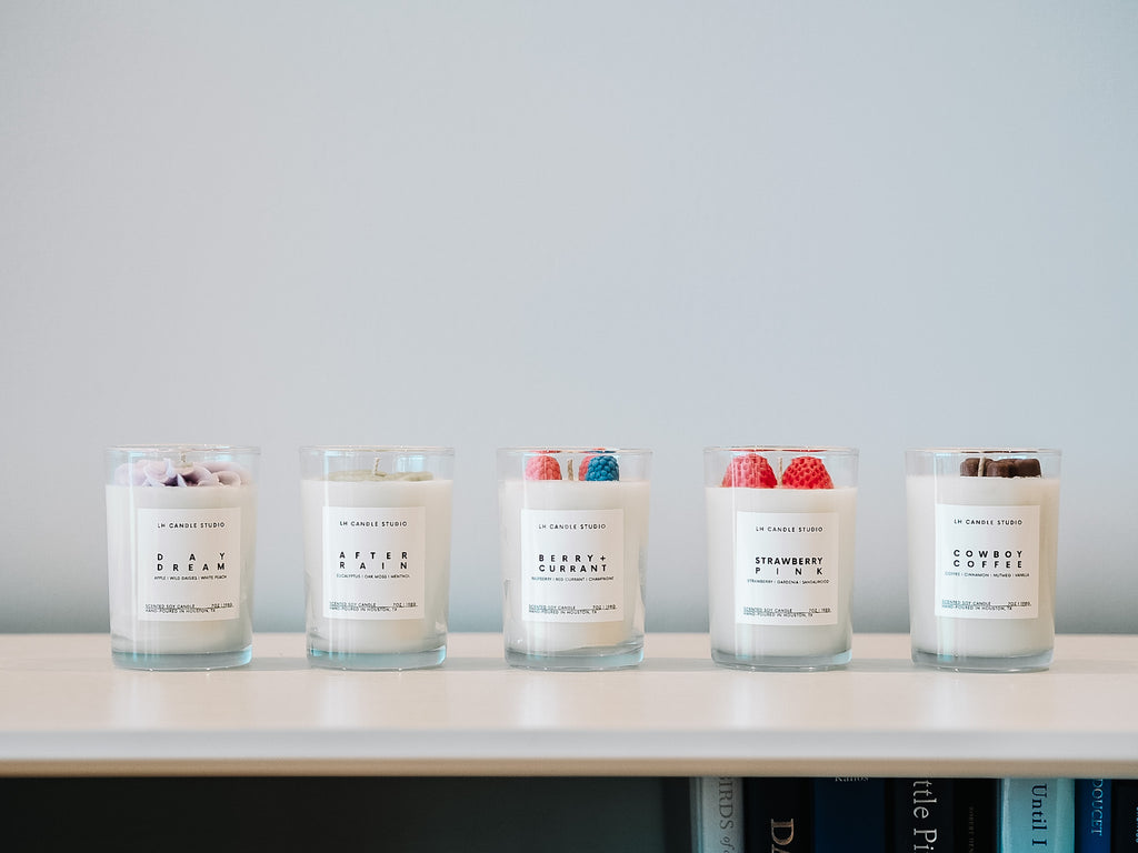 Signature candle bundle ($75 value) - LH CANDLE STUDIO