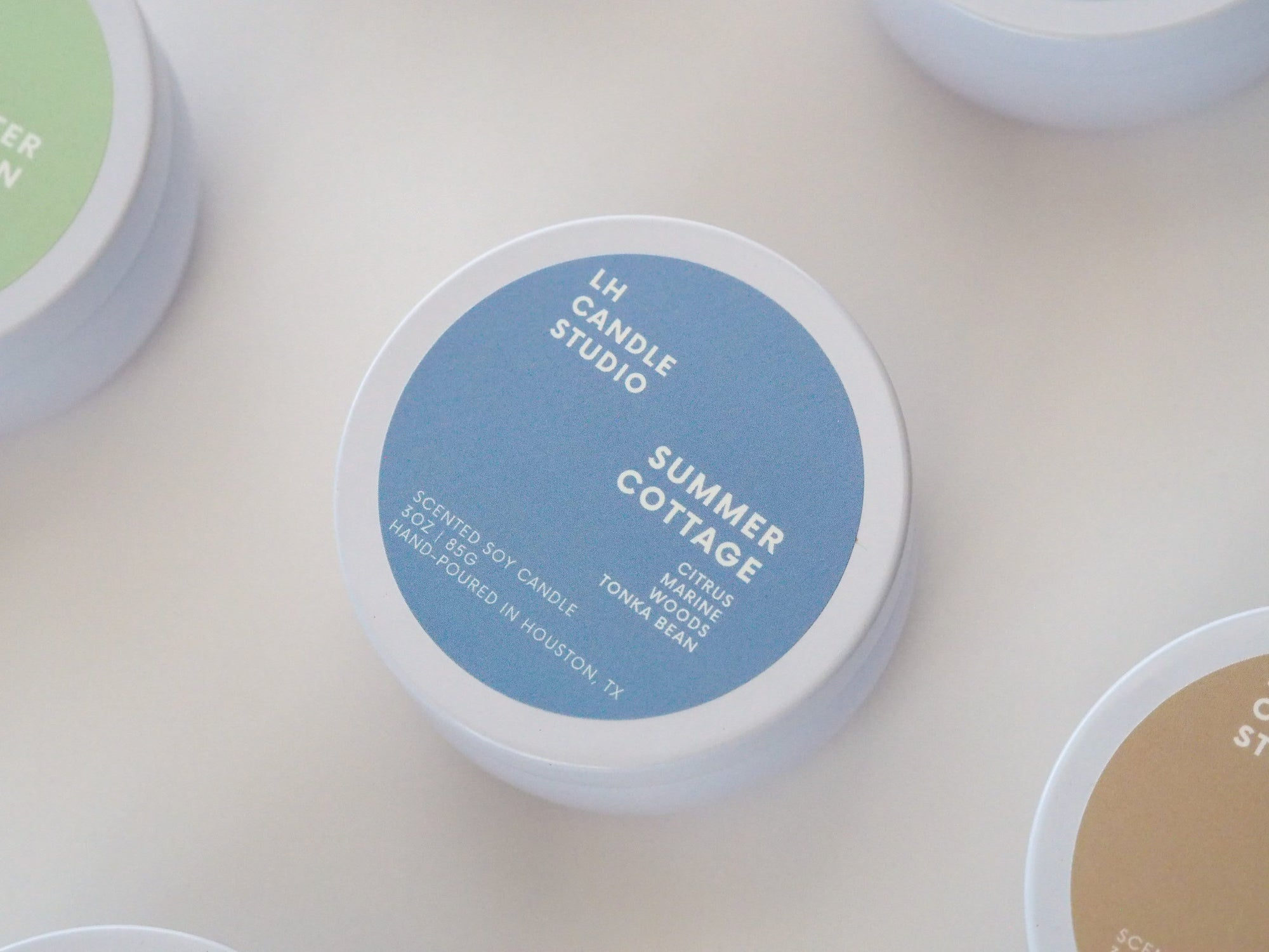 Summer Cottage Candle - LH CANDLE STUDIO