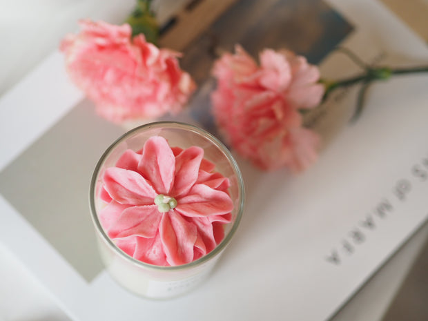 Wholesale - Strawberry pink Candle 1