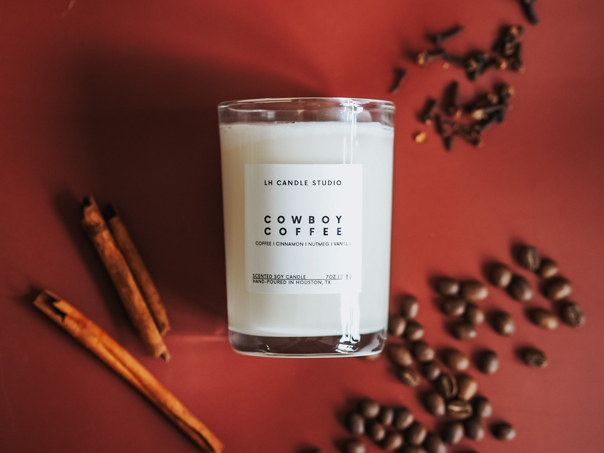 Cowboy Coffee Candle