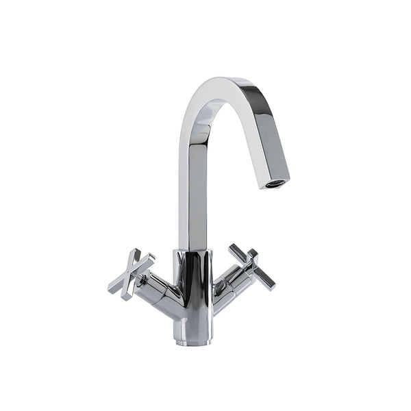 Faucet With Movable Spout