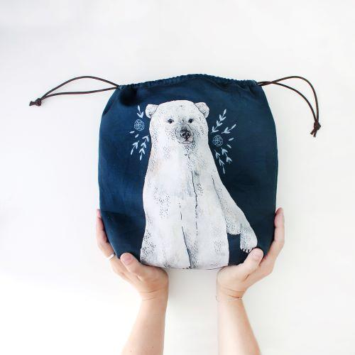 The Blue Rabbit House Polar Bear