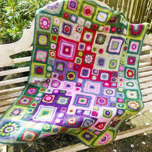 Homage to the granny square