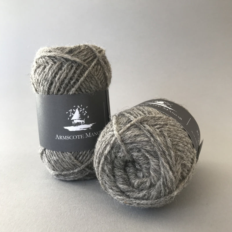 Armscote Manor PORTLAND WOOL - Grey 03 - Beautiful Knitters