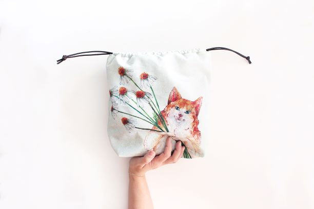 The Blue Rabbit House PROJECT BAG - Kasper the Cat - Beautiful Knitters