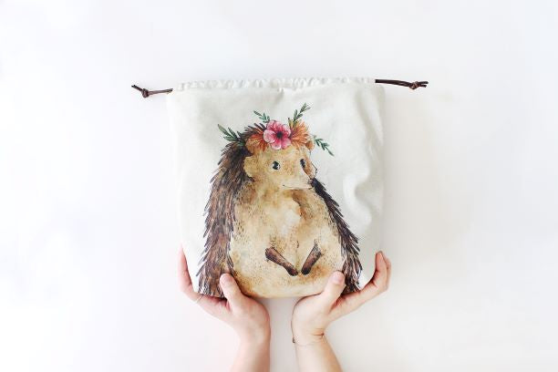 The Blue Rabbit House PROJECT BAG - Nikki the Hedgehog - Beautiful Knitters
