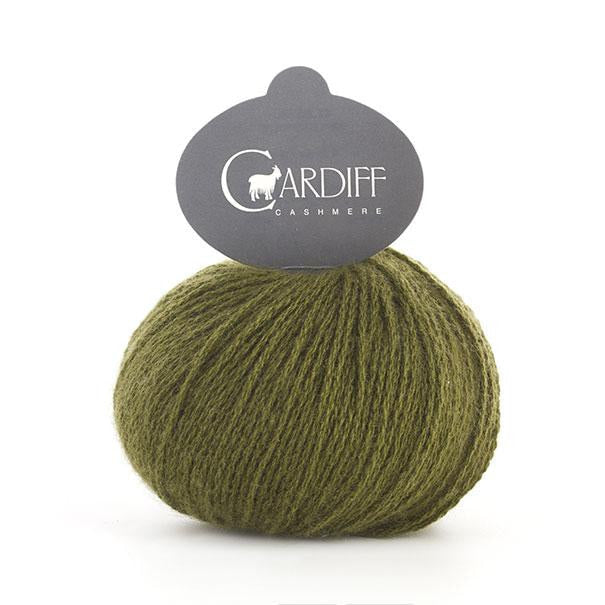 Cardiff Cashmere CLASSIC - Jungle 543 - Beautiful Knitters