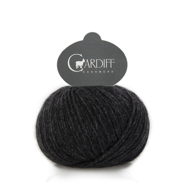 Cardiff Cashmere CLASSIC - Antracite 520 - Beautiful Knitters