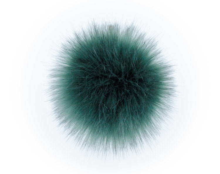 LovaFur POM-POM - Emerald Fur - Beautiful Knitters