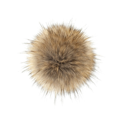 LovaFur POM-POM - Stone Fur - Beautiful Knitters