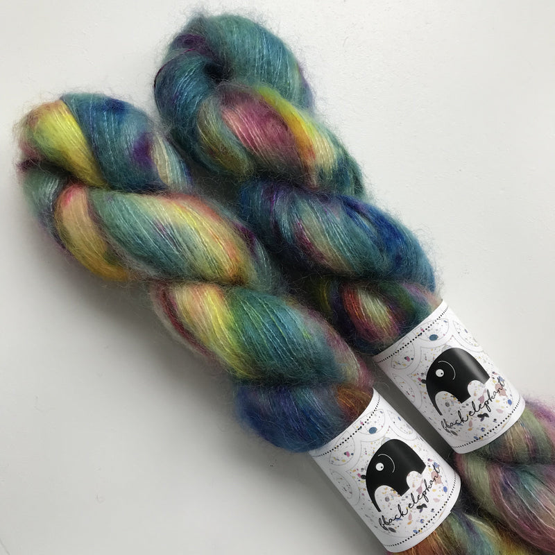 Black Elephant KID MOHAIR - Hallucinations - Beautiful Knitters