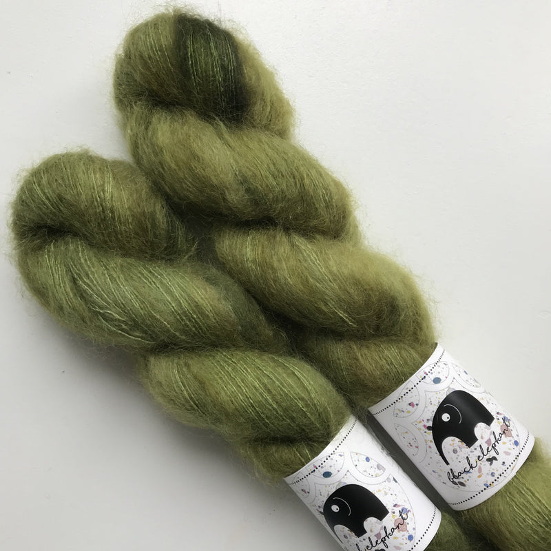 Black Elephant KID MOHAIR - Polana - Beautiful Knitters