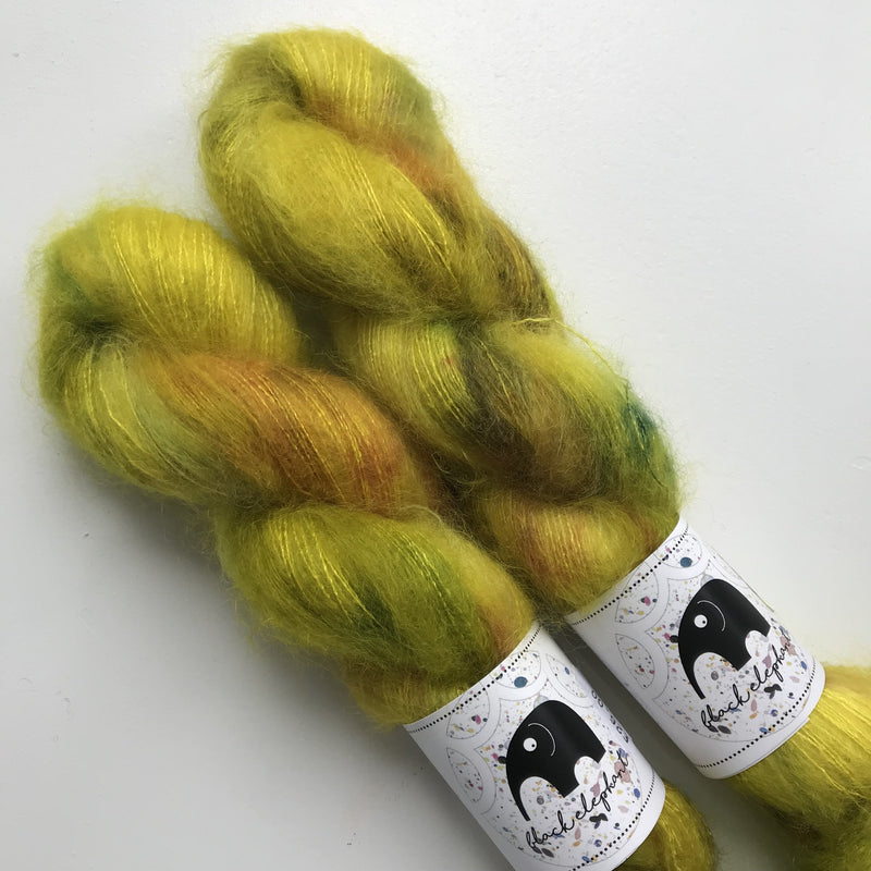 Black Elephant KID MOHAIR - Acid Hologram - Beautiful Knitters