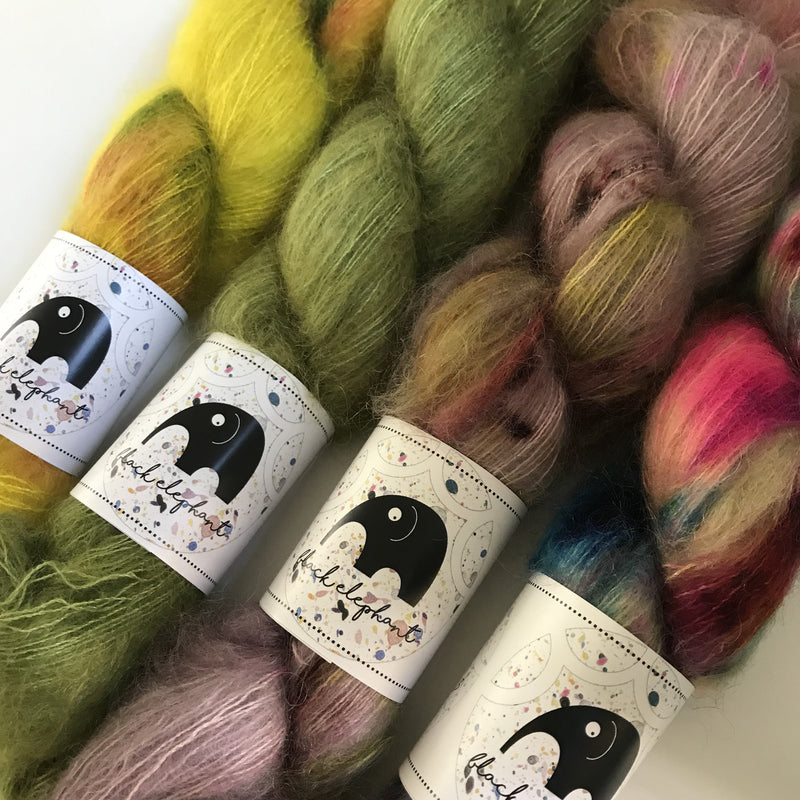 Black Elephant KID MOHAIR - Beautiful Knitters