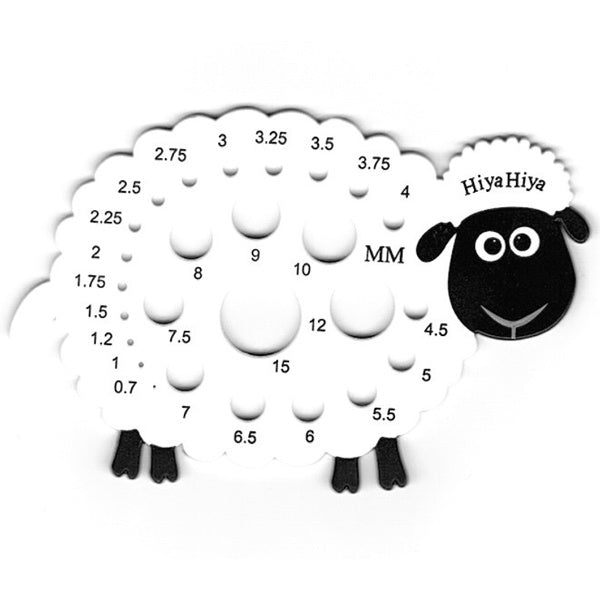 Sheep Needle Gauge - [variant_title] - Beautiful Knitters
