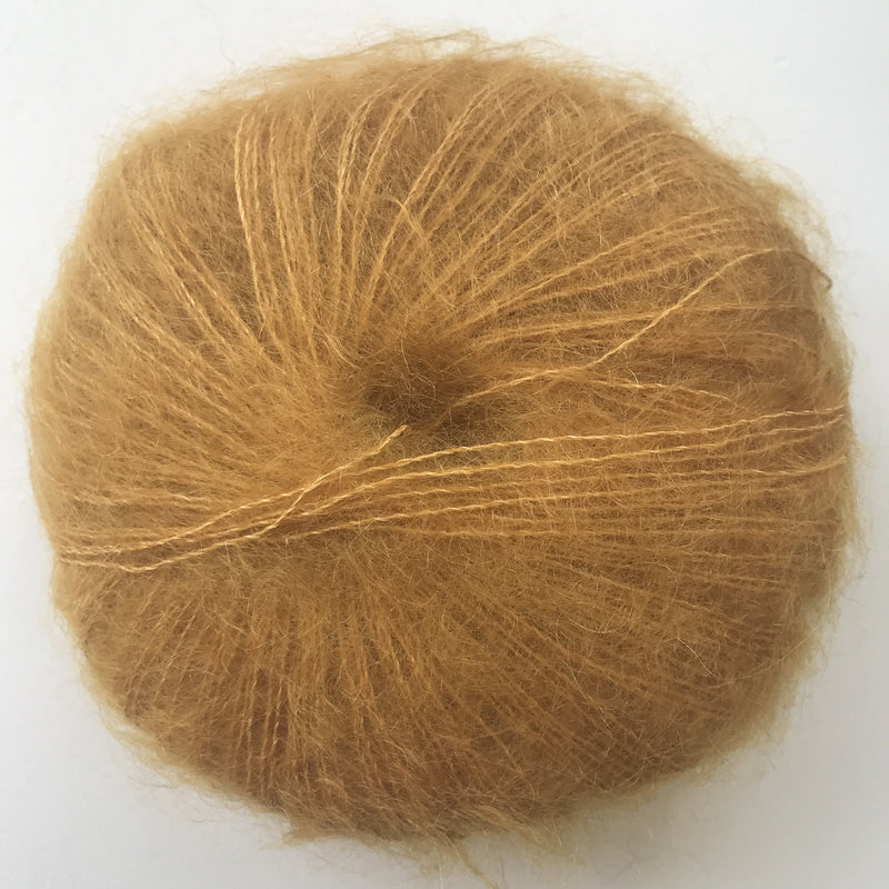 HjerteGarn SILK KID MOHAIR - 0953 Gold - Beautiful Knitters