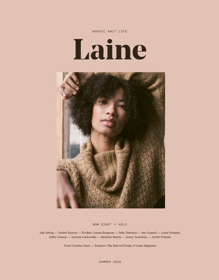 Laine MAGAZINE ISSUE 8 - [variant_title] - Beautiful Knitters