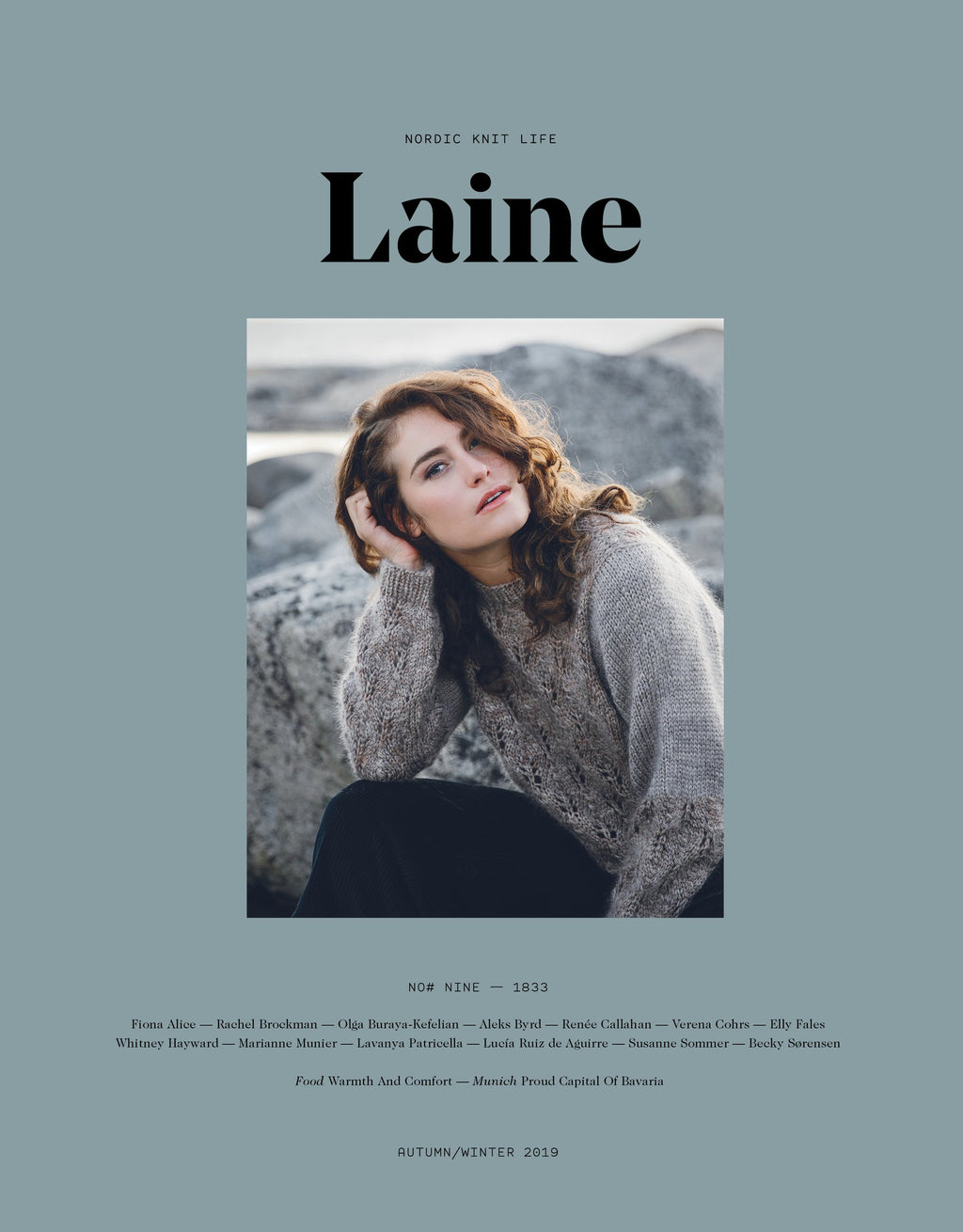 Laine MAGAZINE ISSUE 9 - [variant_title] - Beautiful Knitters
