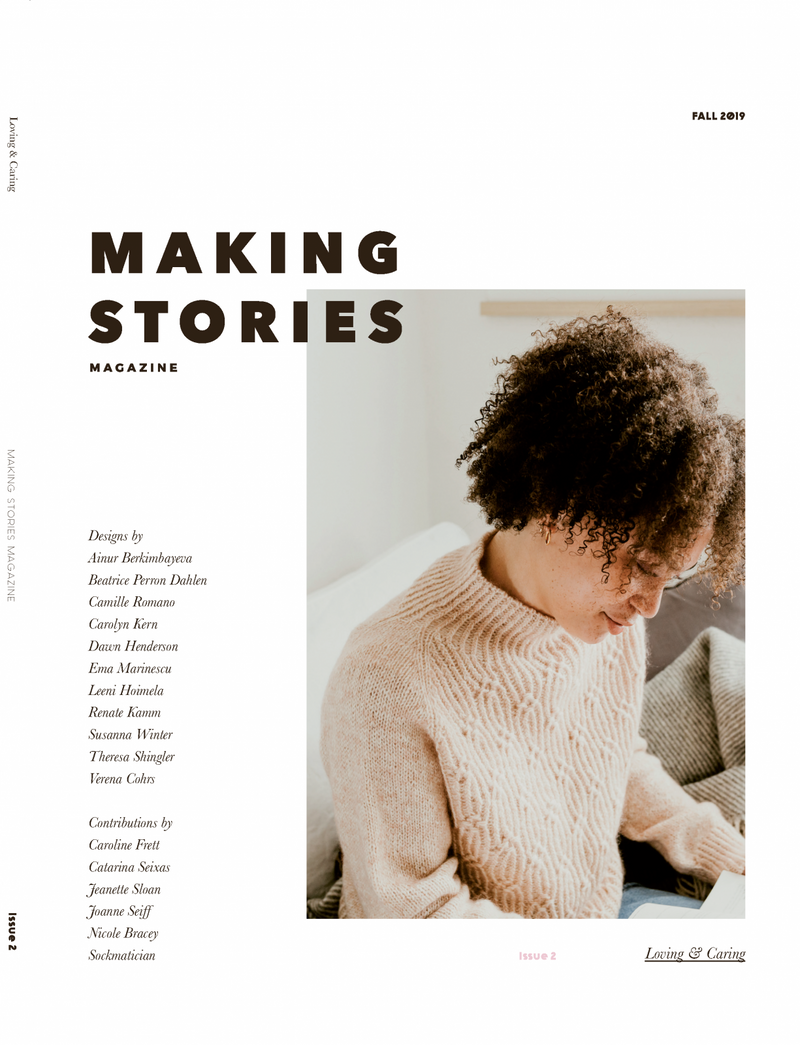 MAKING STORIES MAGAZINE ISSUE 2 - Beautiful Knitters