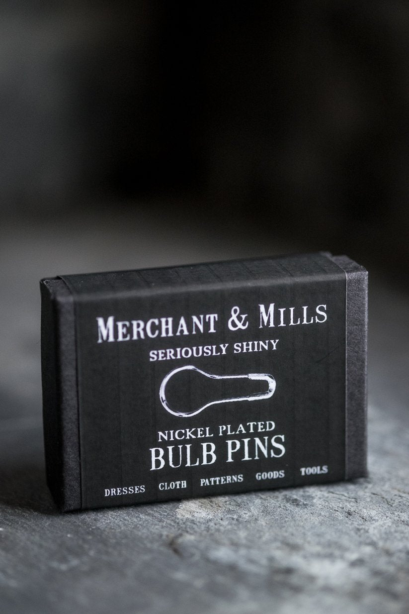 Merchant & Mills BULB PINS - Silver Nickel - Beautiful Knitters