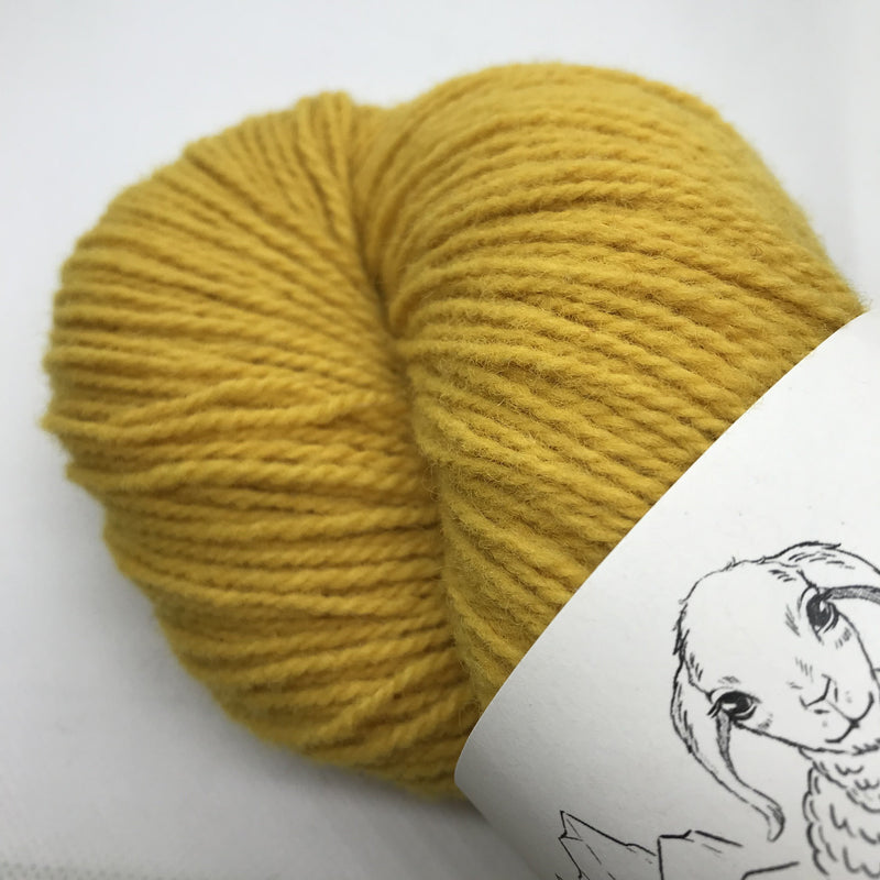 Rauwerk SPORT - Naturally Dyed - Arnika - Beautiful Knitters
