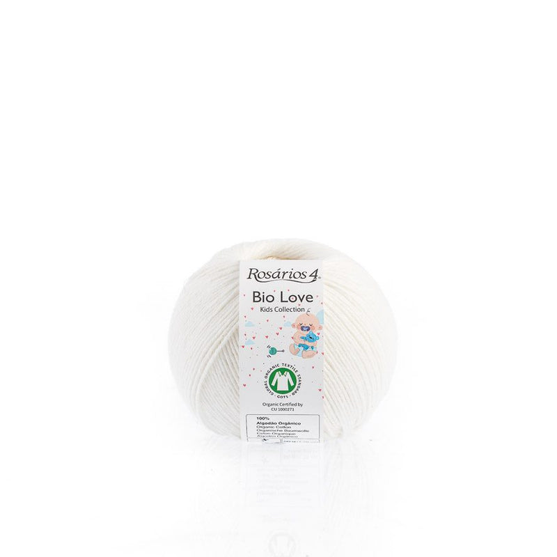 Rosarios4 BIO LOVE - 01 White - Beautiful Knitters