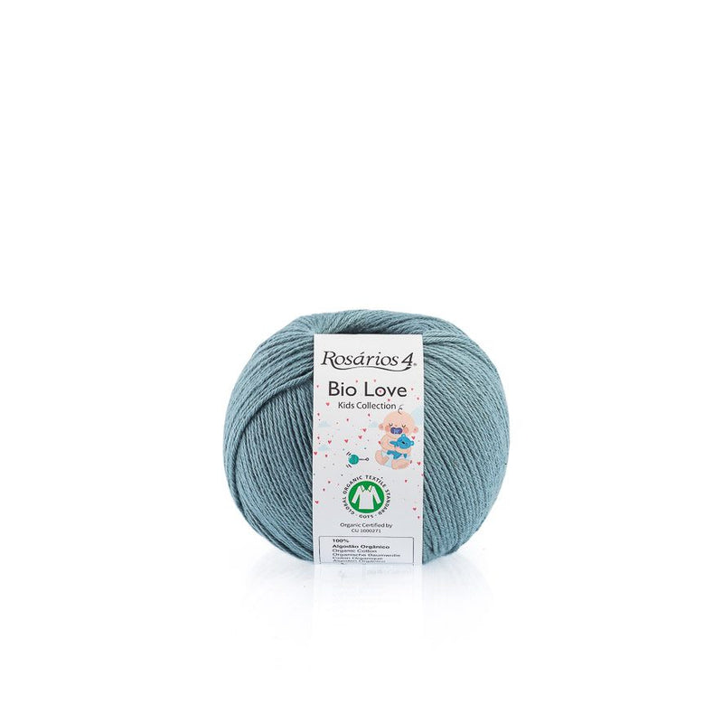 Rosarios4 BIO LOVE - 11 Duck Egg - Beautiful Knitters