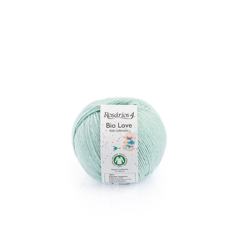 Rosarios4 BIO LOVE - 15 Green Pastel - Beautiful Knitters