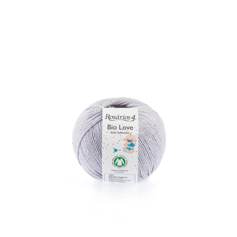 Rosarios4 BIO LOVE - 21 Purple Light - Beautiful Knitters