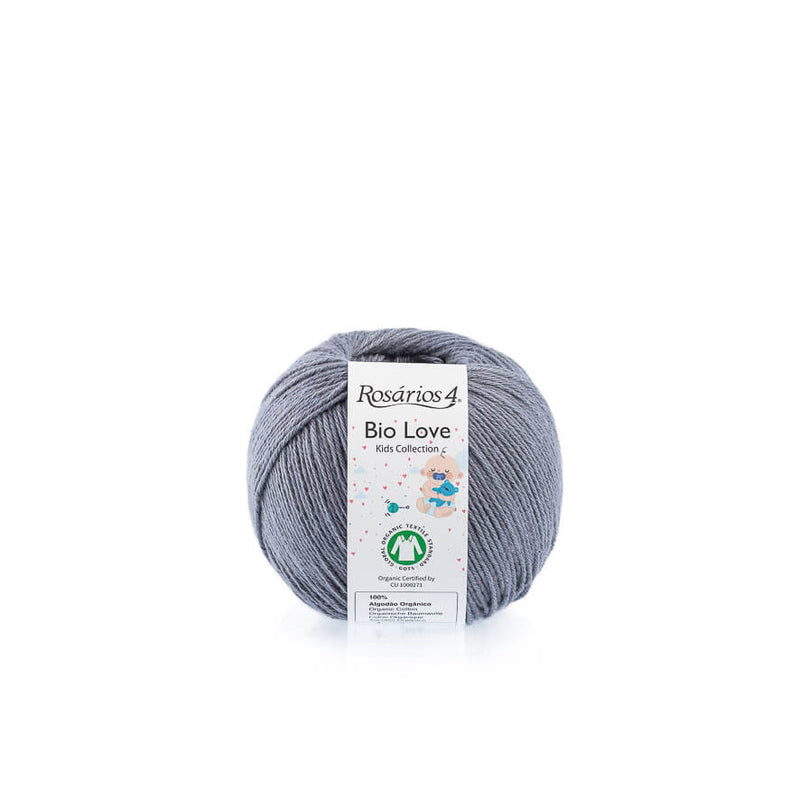 Rosarios4 BIO LOVE - 22 Grey - Beautiful Knitters