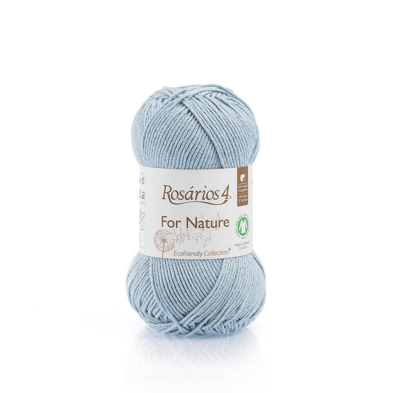 Rosarios4 FOR NATURE - 87 Light Blue - Beautiful Knitters