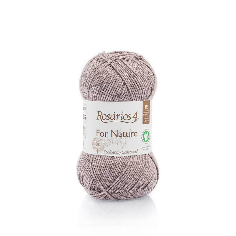 Rosarios4 FOR NATURE - 89 Mauve - Beautiful Knitters