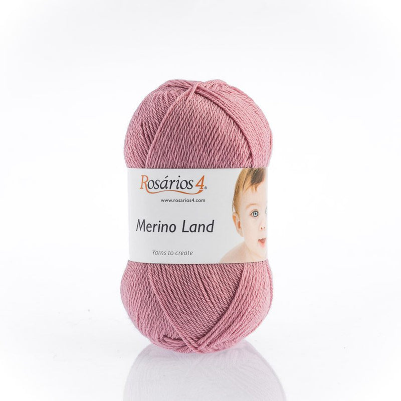 Rosarios4 MERINO LAND - 10 Pink - Beautiful Knitters