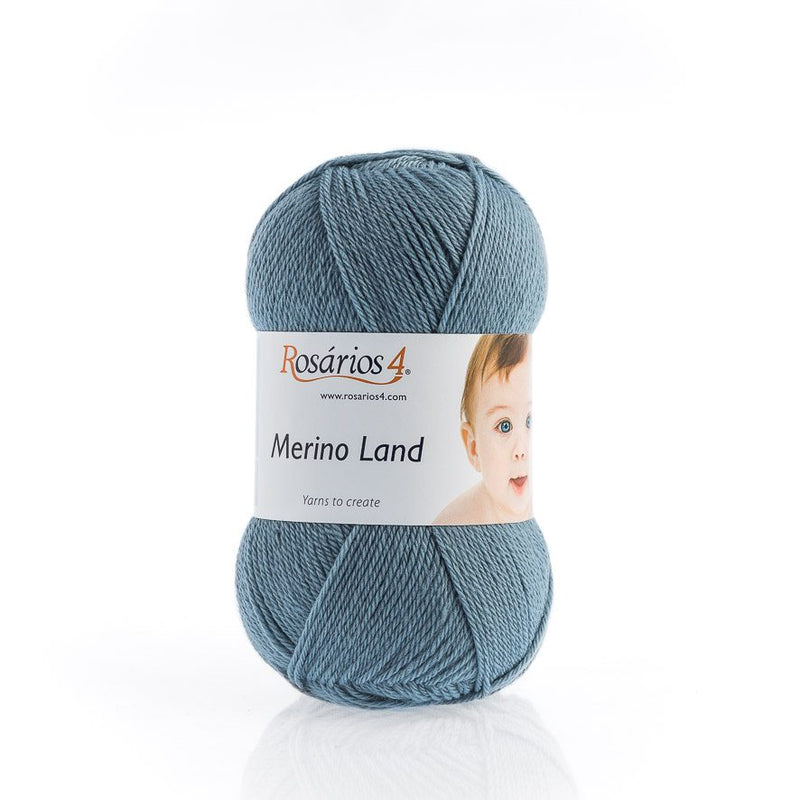 Rosarios4 MERINO LAND - 12 Blue - Beautiful Knitters